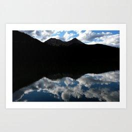 Fern Lake Reflection Art Print