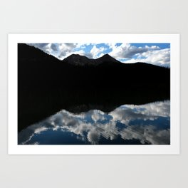 Fern Lake Reflection Art Print