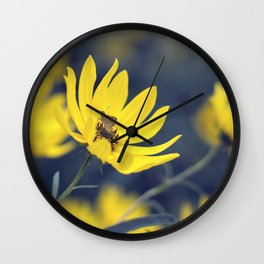 Little Skipper Butterfly Wall Clock