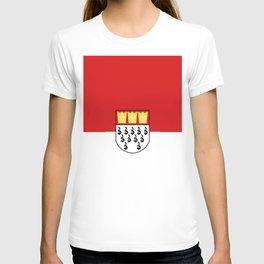 Flag of Cologne Köln T-shirt