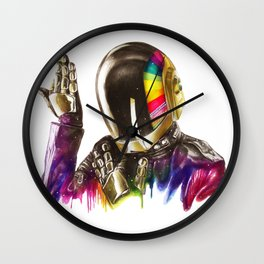 Daft punk Guy-Manuel de Homem-Christo Wall Clock