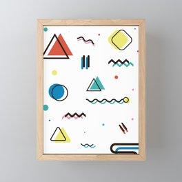 Houston 1990 Framed Mini Art Print