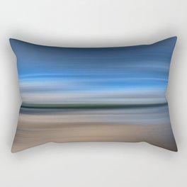 Beach Blur Rectangular Pillow