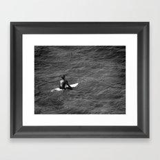 Surfer, Fuerteventura. Framed Art Print