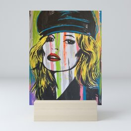 kate moss Mini Art Print