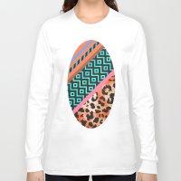safari Long Sleeve T-shirts featuring Wild Safari by Girly Trend