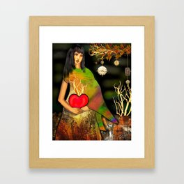 Love Grows Eternally Framed Art Print
