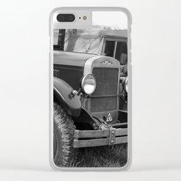 car Clear iPhone Case