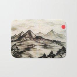 Mountains No1 Bath Mat