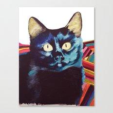 Buffy the Cat Canvas Print