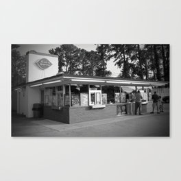 Classic Dairy Queen Canvas Print