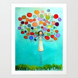 Colors in You Art Print