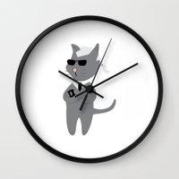 karl Wall Clocks featuring Karl by Tyler Pentland