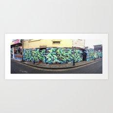 Newtown Wall Art Print