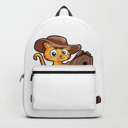 Rocking Horse Cat Pony Saddle Horse Son Daughter Backpack
