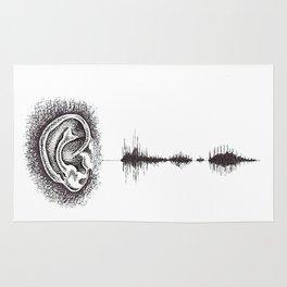 Hearing Damage Rug