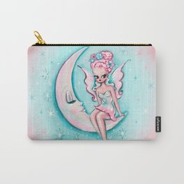 Fairy on the Moon Carry-All Pouch