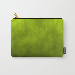 Slime Green Vaporized Neon Ectoplasm Fog Carry-All Pouch