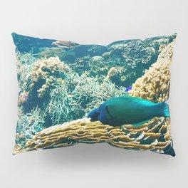 Coral Blue Pillow Sham