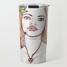 Amsterdam Girl Travel Mug