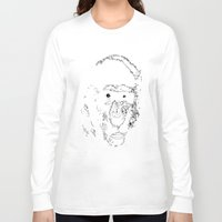 monkey Long Sleeve T-shirts featuring Monkey by Digital-Art