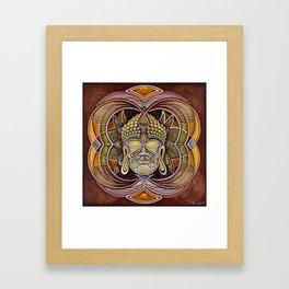 BuddhaHead Framed Art Print