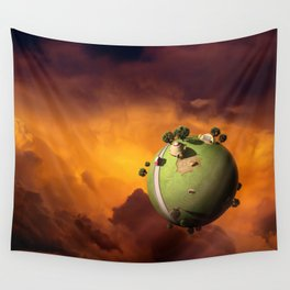 Kaito's Planet Wall Tapestry