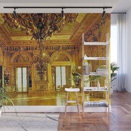 Newport Mansions, Rhode Island - Marble House - Gold Room #2 Wall Mural