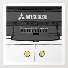 Mitsubishi Art Print