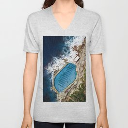 Bronte Baths Sydney  Unisex V-Neck
