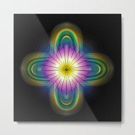 new millenium flower Metal Print