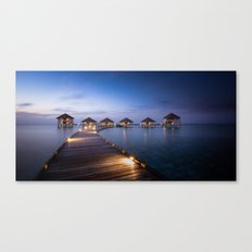 honeymooners paradise Canvas Print