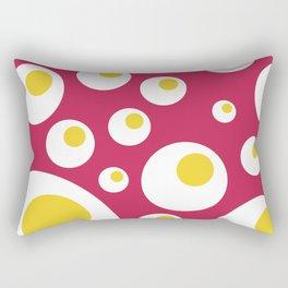 Fried Eggs Rebellion Rectangular Pillow
