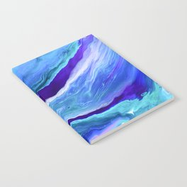 Dreamy Fluid Abstract Painting Notebook
