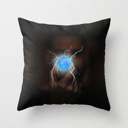 Energy Ball by GEN Z Throw Pillow