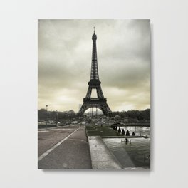 Le Tour Eiffel II - Paris Metal Print