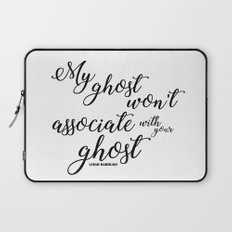 ghost (six of crows) Laptop Sleeve
