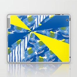 Sailing on Stormy Seas Laptop & iPad Skin