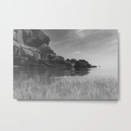 Reflective calm Metal Print