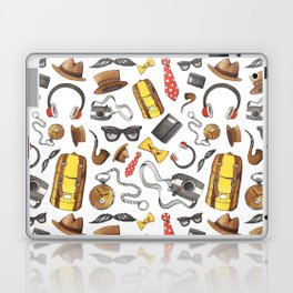 Hipster Accessories Pattern Laptop & iPad Skin
