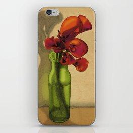 Calla lilies in bloom iPhone Skin
