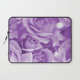 Violet Rose Bouquet For You - Valentine's Day #decor #society6 #homedecor Laptop Sleeve