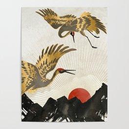 Elegant Flight II Poster