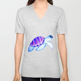 Blue Turtle Unisex V-Neck