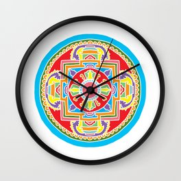The Mandala Wall Clock