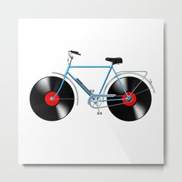 Simphony Bike Metal Print