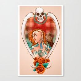 Suicide Raven Canvas Print