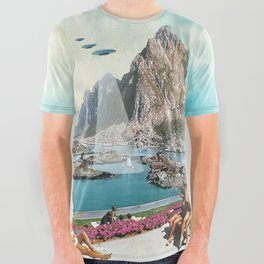 Mass Sighting All Over Graphic Tee