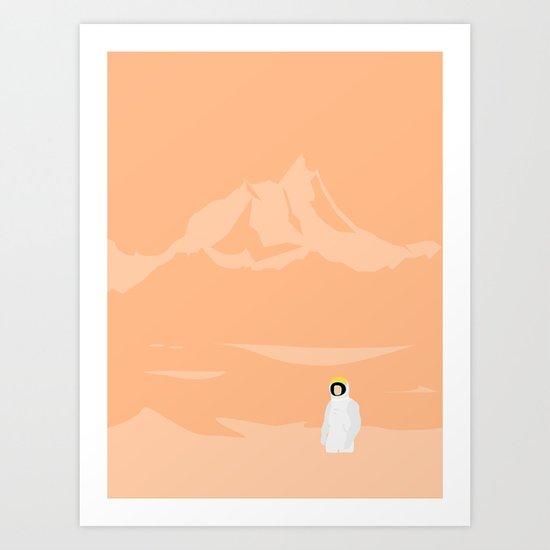 BESØGENDE Art Print