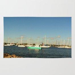 Sailing day Rug
